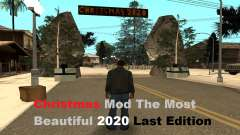 Christmas Mod The Most Beautiful 2020 LE for GTA San Andreas