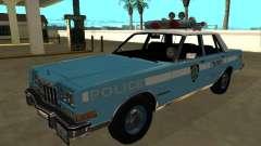 Dodge Diplomat 1987 New York Police Dept for GTA San Andreas
