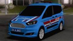 Ford Tourneo Courier Jandarma Asayis&Gendarme