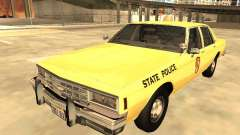 Chevrolet Impala 1985 Mariland State Police for GTA San Andreas