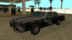 Ford LTD Crown Victoria 1987 New Mexico SP for GTA San Andreas