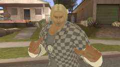 Paul Biker Shortcut Hair V1 for GTA San Andreas