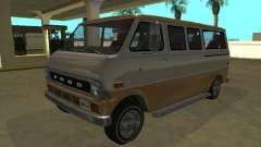 Ford Econoline E-200 1973 Van Youga GTA V for GTA San Andreas