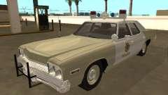 Dodge Monaco 1974 Las Vegas Metro Police for GTA San Andreas