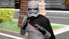 Star Wars Capitan Phasma for GTA San Andreas