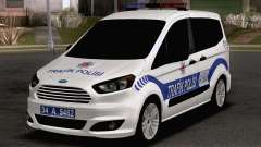 Ford Tourneo Courier Traffic Police for GTA San Andreas