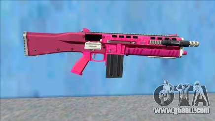 GTA V Vom Feuer Assault Shotgun Pink V12 for GTA San Andreas