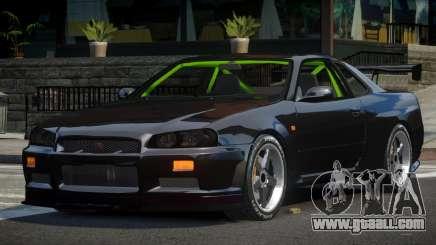 Nissan Skyline R34 GST-R for GTA 4