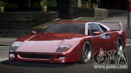 Ferrari F40 80S for GTA 4