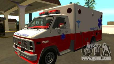 GMC Vandura 1985 Ambulance for GTA San Andreas