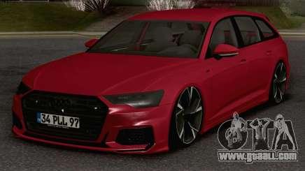 Audi A6 Avant S-Line for GTA San Andreas
