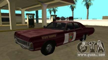 Dodge Polara 1972 Minnesota State Trooper for GTA San Andreas