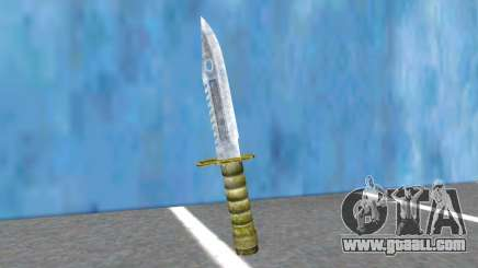Combat Knife RE2R And RE3R for GTA San Andreas