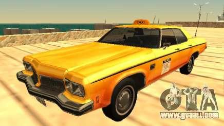 Oldsmobile Delta 88 1973 taxi for GTA San Andreas