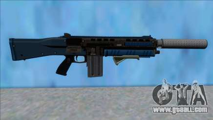 GTA V Vom Feuer Assault Shotgun LSPD V4 for GTA San Andreas