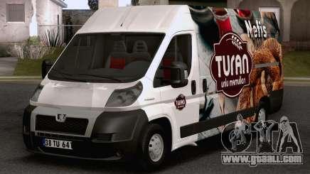 Peugeot Boxer (Turkish Bakery Car) for GTA San Andreas