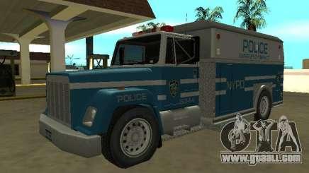 Enforcer HQ do GTA 3 New York Police Dept for GTA San Andreas