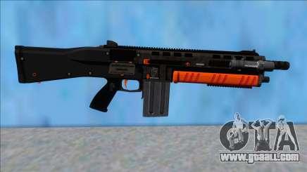 GTA V Vom Feuer Assault Shotgun Orange V12 for GTA San Andreas