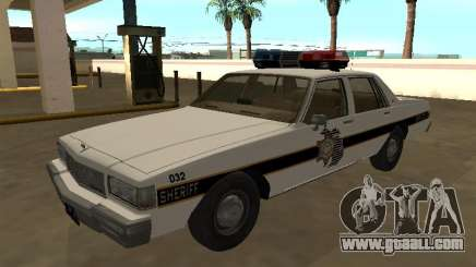 Chevrolet Caprice 1987 Eaton County Sheriff Patr for GTA San Andreas