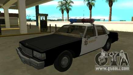 Chevrolet Caprice 1987 Los Angeles County Sherif for GTA San Andreas
