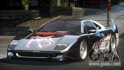 Ferrari F40 80S L10 for GTA 4
