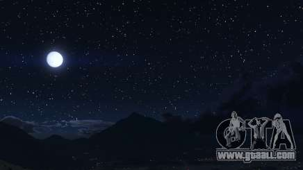 Starry Sky Mod for GTA 5