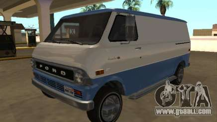 Ford Econoline E-200 1973 Van (Youga GTA V) for GTA San Andreas
