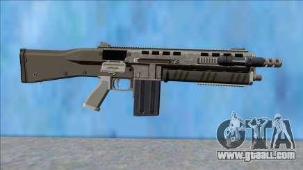 GTA V Vom Feuer Assault Shotgun Platinum V12 for GTA San Andreas