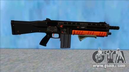 GTA V Vom Feuer Assault Shotgun Orange V10 for GTA San Andreas