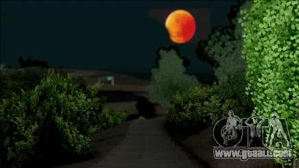 Luna Roja Para Halloween for GTA San Andreas
