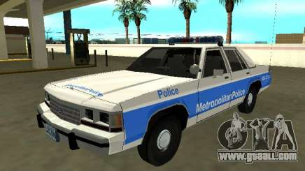 Ford LTD Crown Victoria 1991 Massachusetts Metro for GTA San Andreas