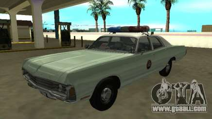 Dodge Polara 1972 US Border Patrol for GTA San Andreas