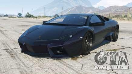Lamborghini Reventon 2008 for GTA 5