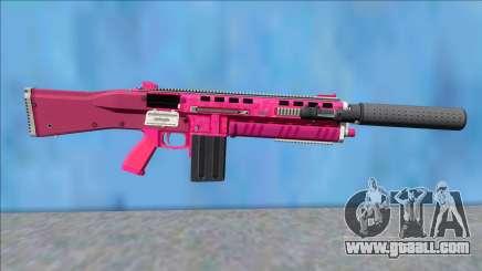 GTA V Vom Feuer Assault Shotgun Pink V2 for GTA San Andreas
