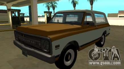 1972 Chevrolet C-10 Blazer for GTA San Andreas