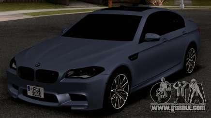 BMW M5 F10 30TH Anniversary Edition for GTA San Andreas