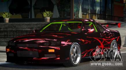 Nissan Skyline R34 GST-R PJ2 for GTA 4