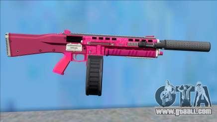GTA V Vom Feuer Assault Shotgun Pink V1 for GTA San Andreas
