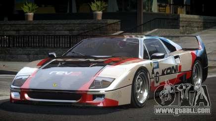 Ferrari F40 80S L6 for GTA 4