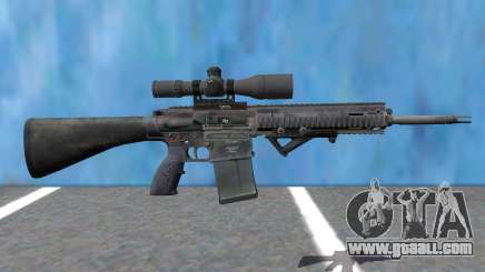 PAYDAY 2 Little-Friend 762 Sniper for GTA San Andreas