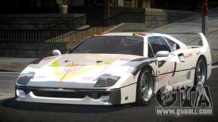 Ferrari F40 80S L8 for GTA 4