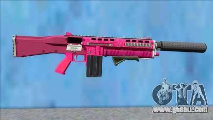 GTA V Vom Feuer Assault Shotgun Pink V4 for GTA San Andreas