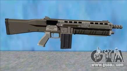 GTA V Vom Feuer Assault Shotgun Platinum V15 for GTA San Andreas