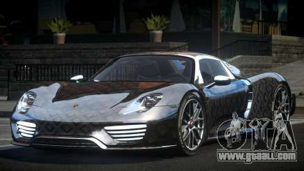 Porsche 918 Spyder SR L10 for GTA 4