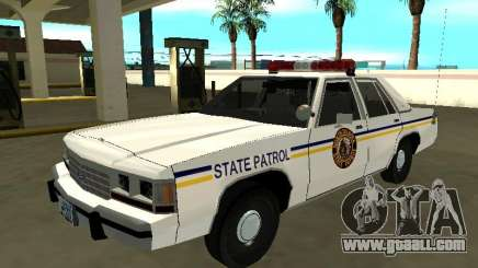 Ford LTD Crown Victoria 1991 North Dakota ST for GTA San Andreas