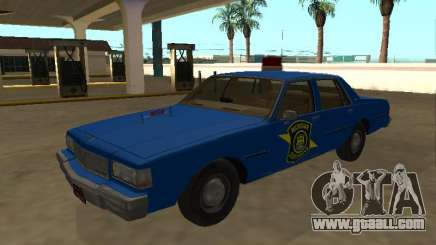 Chevrolet Caprice 1987 Michigan State Police for GTA San Andreas