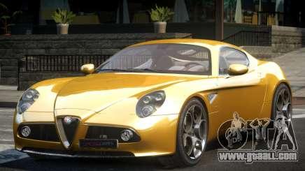 Alfa Romeo 8C BS for GTA 4