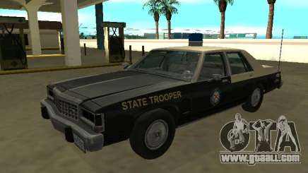 Ford LTD Crown Victoria 1987 FHP for GTA San Andreas
