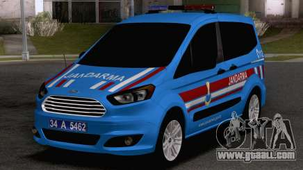 Ford Tourneo Courier Jandarma Asayis&Gendarme for GTA San Andreas