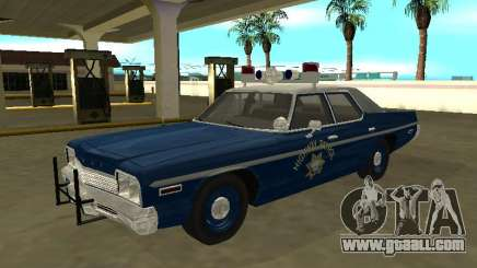 Dodge Monaco 1974 Nevada Highway Patrol for GTA San Andreas